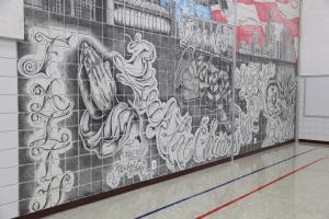 jail tour mural