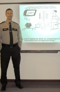jail tour officer